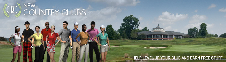 Create your own country club and invite your friends to join!