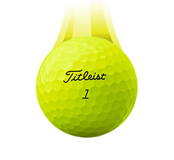 Titleist Pro V1x Super Vapor Ball, Yellow (L73+)