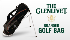 The Glenlivet-branded Golf Bag