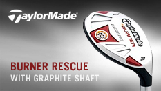 TaylorMade Burner Rescue with Graphite Shaft