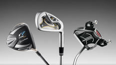 Set of TaylorMade Golf Clubs