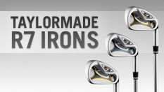 TaylorMade R7 Irons 3-PW