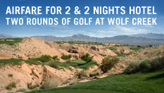 Golf for Two at Wolf Creek Resort