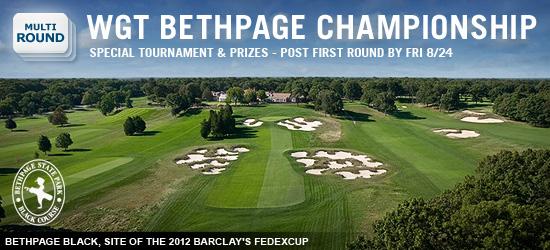 WGT Bethpage Championship