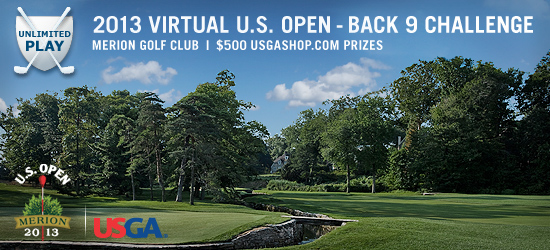 Virtual U.S. Open Back 9 Challenge