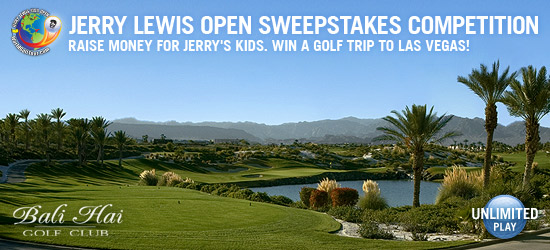 Jerry Lewis Sweepstakes