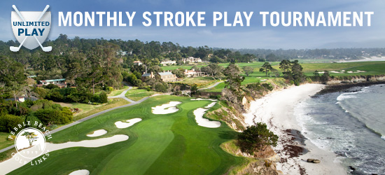 August Monthly Pebble Beach 18-Hole Unlimited