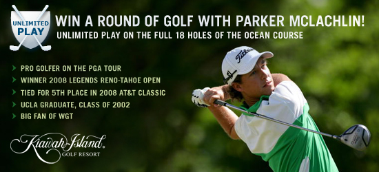 Play with Parker 18-Hole Open