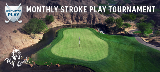 January Monthly Wolf Creek 18-Hole Unlimited