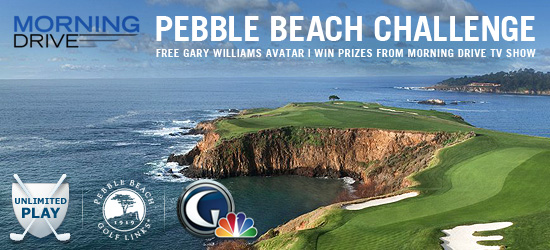 Morning Drive Pebble Beach Challenge